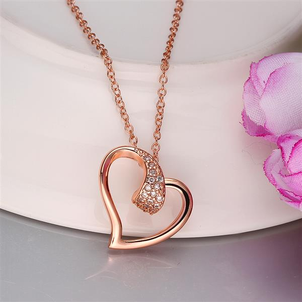 Real 18k Gold Plating Necklaces Rose 018 Jewelry Price Gram Filled Earrings 69655 Aaaaaa In Pendant From
