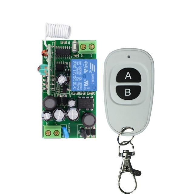 AC85V 110V 220V 230V Wireless Remote Control Lighting Switch ON/OFF 1 Channal Relay Switch  sc 1 st  AliExpress.com & AC85V 110V 220V 230V Wireless Remote Control Lighting Switch ON ... azcodes.com