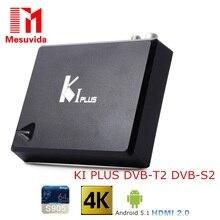 Mesuvida S905 KI PLUS DVB-S2 DVB-T2 TV Box Amlogic Quad núcleo de $ number bits Soporte DVB-T2 DVB-S2 1G/8G 1080 p 4 K Android 5.1 Set-Top caja