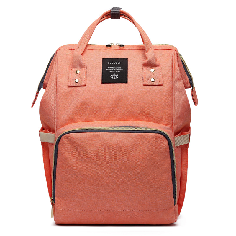 Brand Designer Fashion Mummy Maternity Nappy Bag Large Capacity font b Baby b font Diaper Bag