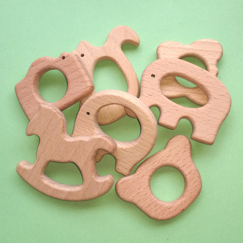 Natural Organic Wooden Teether Infant (3-12 months) Shop by Age Teethers & Rattlers Toddler (1-3 years)