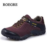 Men steel head safety work shoes casual breathable soft Mesh tourism sneakers shoes men walk multi functional protection shoes