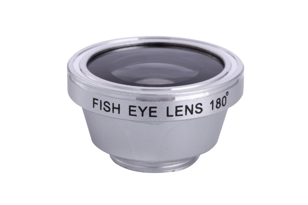 Zoom Optical Lens 4 in 1 Mobile Phone Telescope 9X Telephoto fish eye wide angle macro camera lens for iphone7 6 5 huawei lenovo 14