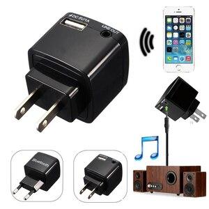 Image 5 - Draadloze Bluetooth Receiver Audio Adapter 3.5 Mm Aux Stereo Muziek Ontvanger V3.0 Eu Us Plug Ac Adapter 110 ~ 240V Voor Bedrade Luidspreker