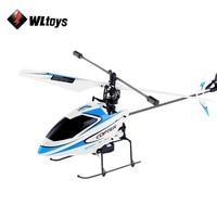 4CH מסוק WLtoys V911 RC 2.4 גרם מקורי Drone צעצוע שלט רחוק מל