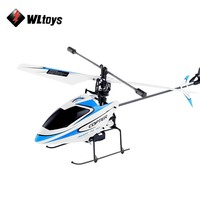 Original WLtoys V911 RC Helicopter 2.4G 4CH Zangão Drones Controle Remoto Brinquedo Brinquedo Voador Helicoptero Zangão Aeronave Miúdo Dron presentes