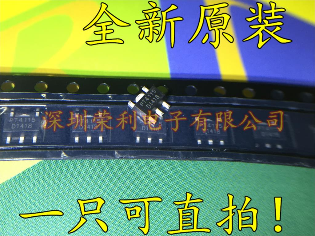 100pcs/lot PT4115 PT4115B89E PT4115B 4115B89E 4115 LED CHIPS LED Drive IC HOT SALE. SOT89 In Stock
