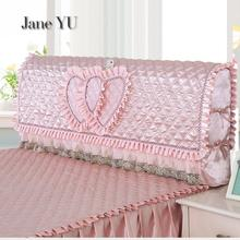 JaneYU Bedside Cover Simple Modern Atmospheric Dust Childrens Room Full Package Special Pure Color