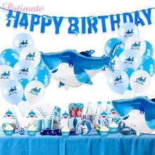 PATIMATE Sarke Animal Ballons Decoration Birthday Balloons Letters Birthdays Baloon Childrens Parties Foil