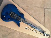 Manufacturers Custom Shop High Quality Shark Shape Electric Guitar With Dual Humbucking Pickups Floyd Rose Tremolo
