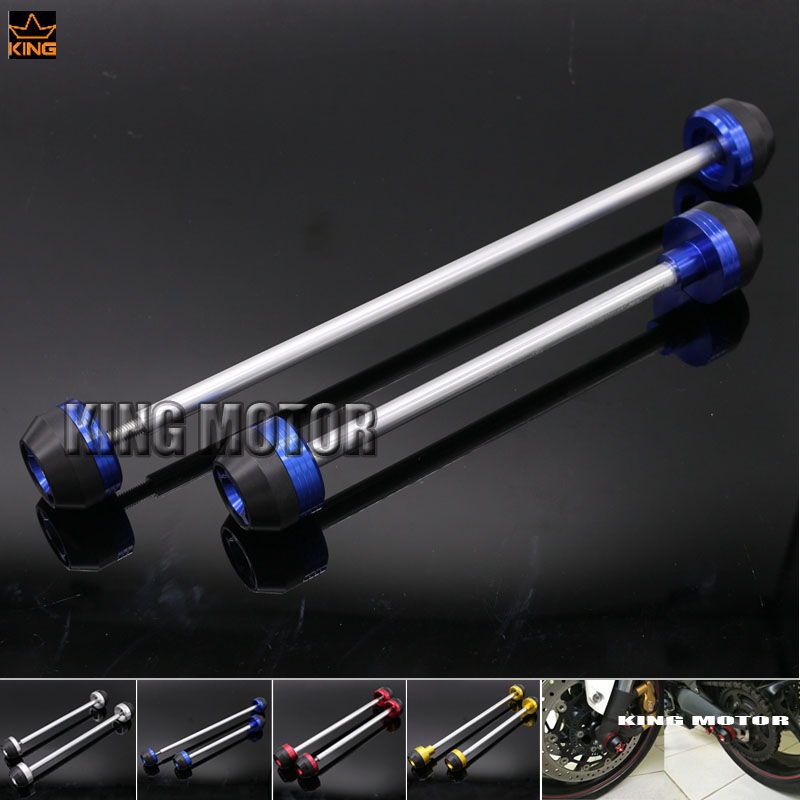 For SUZUKI GSX S 1000 GSX S 1000F GSX S1000 GSXS1000 2015 2016 Front Rear Axle