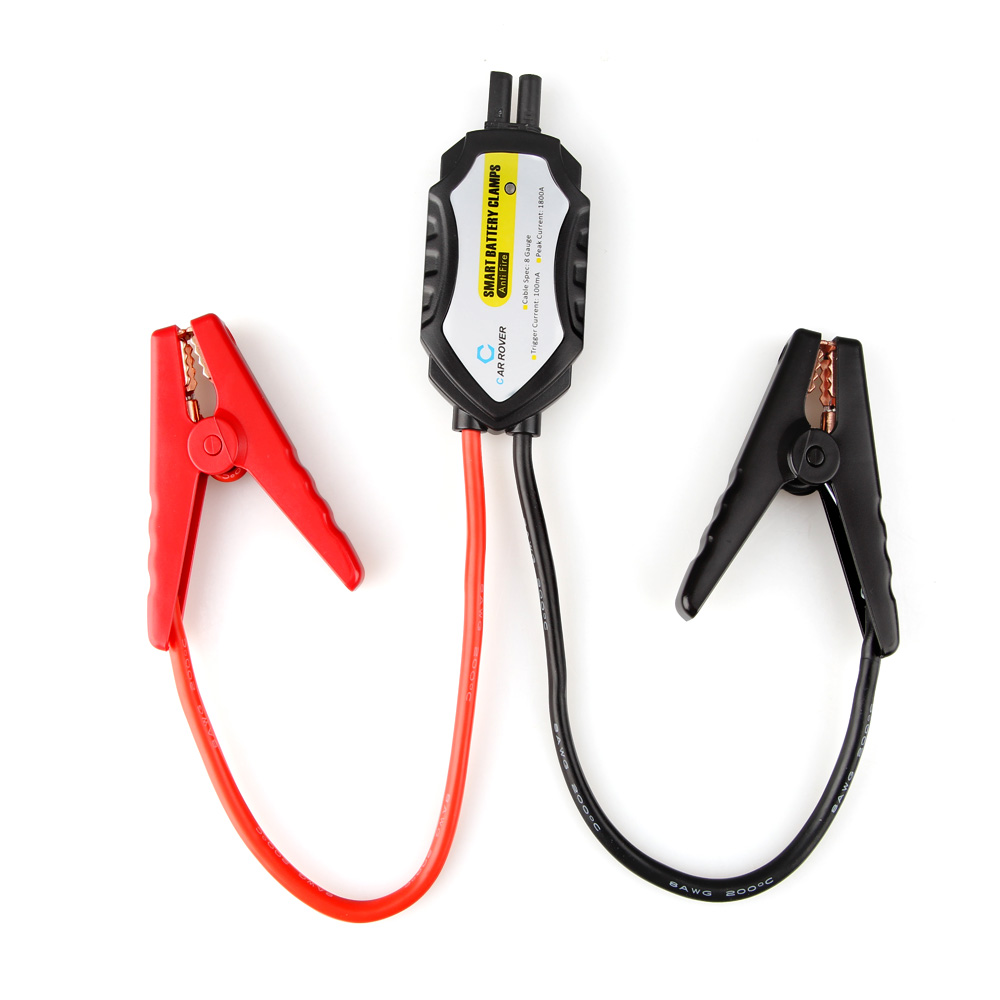 12V Car Jump Starter Car Emergency Start Power Cable Clamp Storage Battery Anti-reverse Clip(China)