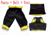 Pants Belt Vest Set Hot Shapers Sports Pants Set Women S Slimming Sets Body Shaper