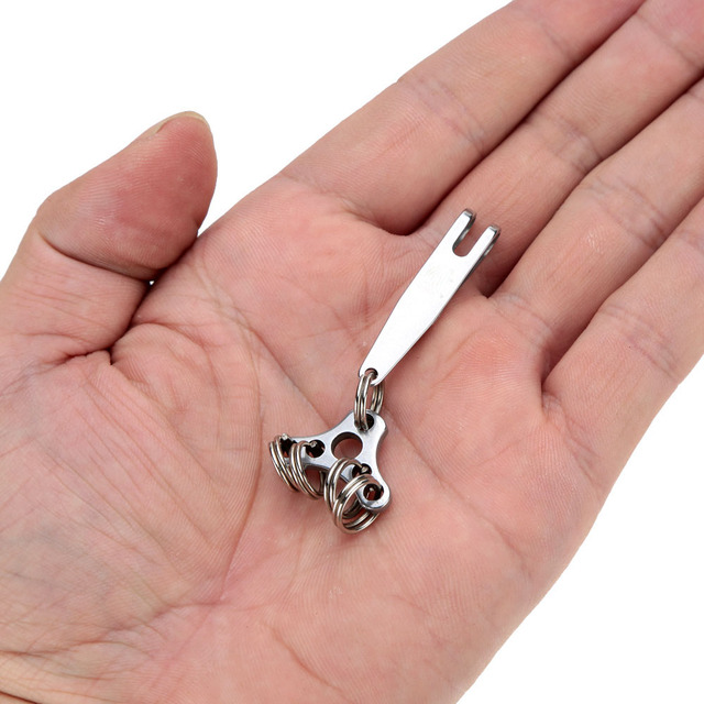 Stainless Steel Keychain Clip