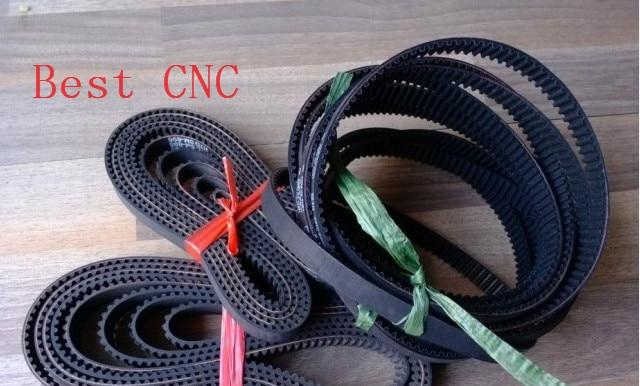 5 pieces HTD5M belt 255-5M-15 Teeth 51 Length 255mm Width 15mm 5M timing belt rubber closed-loop belt 255 HTD 5M S5M Belt Pulley