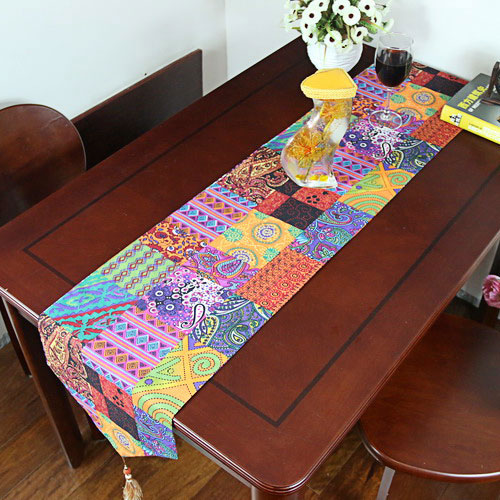 30*190 Cm,MZBY01,Linen Cotton India And Pakistan/tropical  Rainforest/southeast Asia Table Runner Table Flag In Table Runners From  Home U0026 Garden On ...