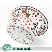 Card To Hat Eragon Magic Tricks Magia Magie Toys Retail And Wholesale