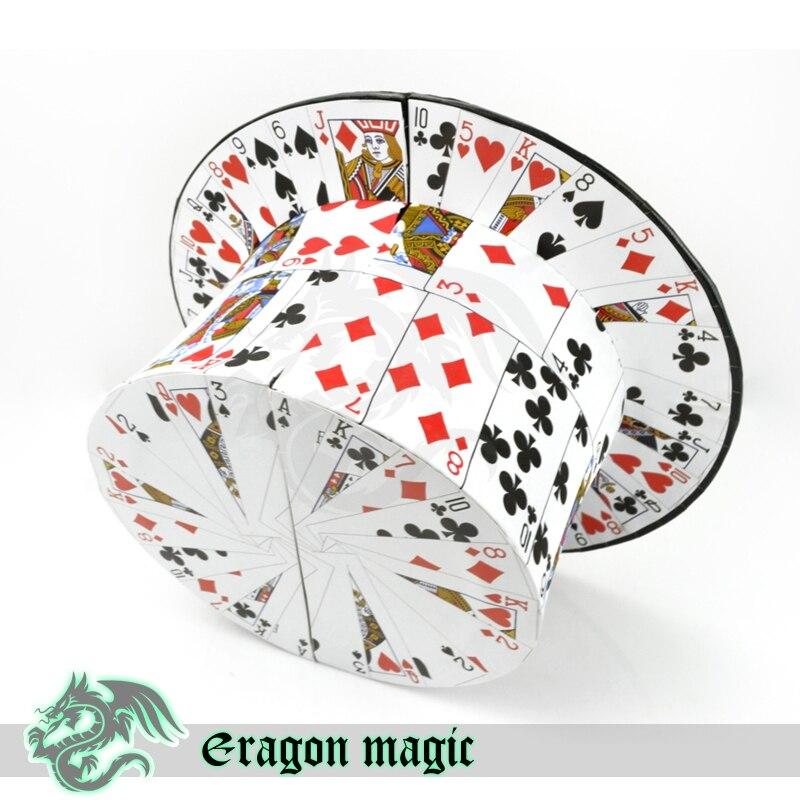 Tarjeta para sombrero juguetes etapa Trucos de magia Magie juguetes al por menor y al por mayor