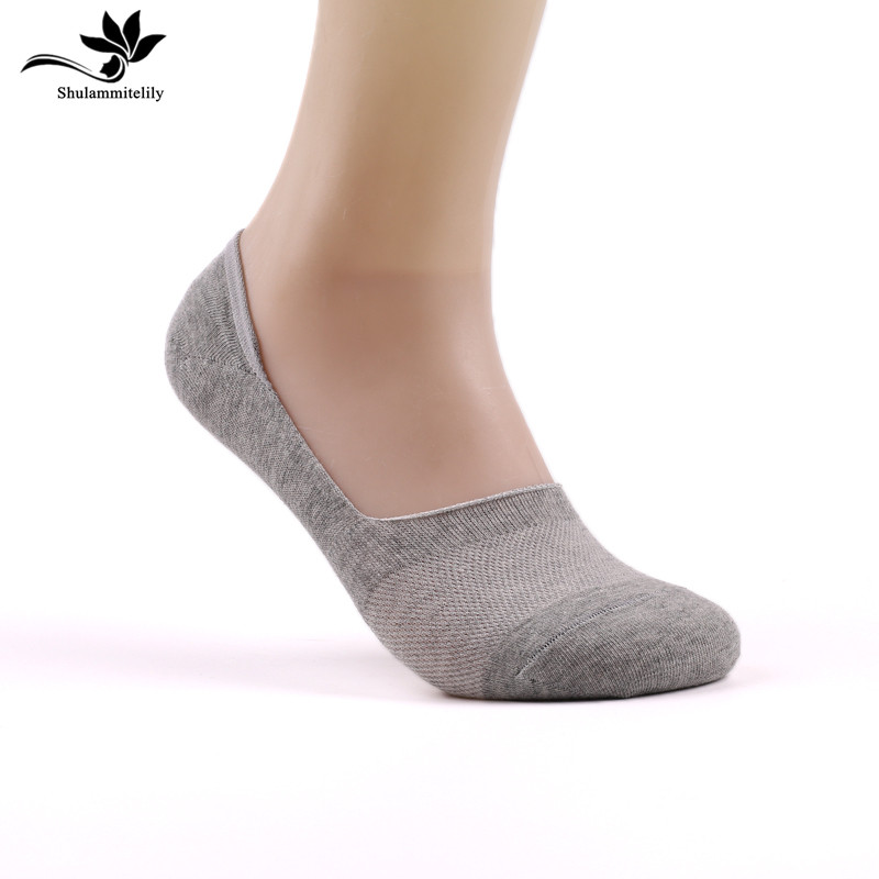 7 Pairs Men's Sock Slippers Non-slip Silicone Invisible Socks Short Boat Socks Spring Summer Fashion Male Ankle Socks Calcetines