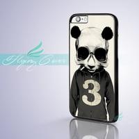 Coque Panda Illustration Hard Skin Phone Cases For IPhone 7 6S 6 5S SE 5C 5