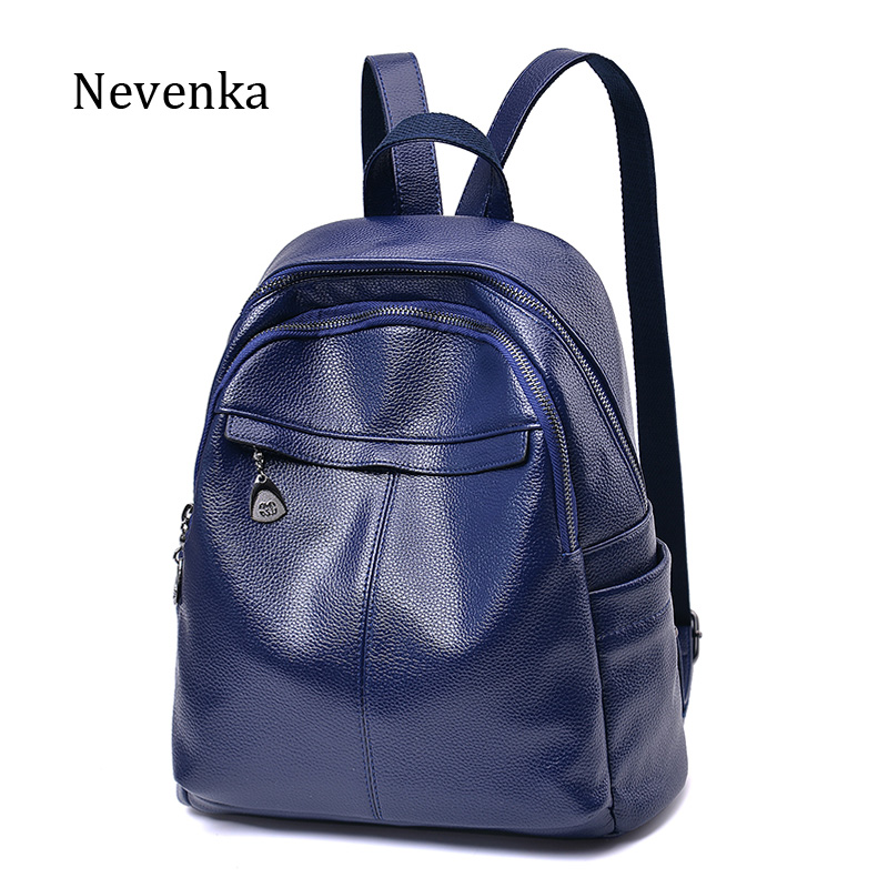 NEVENKA Unisex Brand Backpack Student Casual School Zipper Softback Backpacks Fashion Preppy Style Solid Shoulder Bag Bags new gravity falls backpack casual backpacks teenagers school bag men women s student school bags travel shoulder bag laptop bags