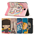 Fashion painted Pu leather stand holder Cover Case For Samsung Galaxy Note 8.0 N5100 N5110 8.0 inch Tablet + Gift