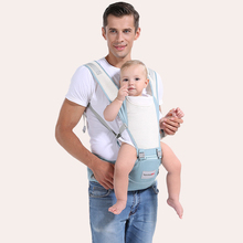 Breathable Front Facing Baby Carrier 4 in 1 Comfortable Sling Backpack Pouch Wrap