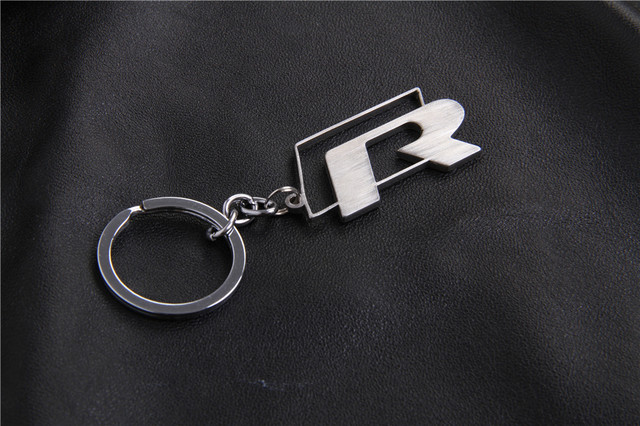 Stainless Steel for VW R Line keyring keychain SCIROCCO GOLF R36 32 ... 9011d6c0abc2
