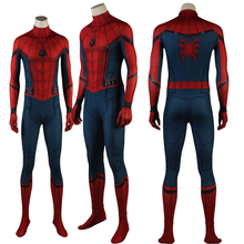 Latest Spiderman Homecoming Superhero Cosplay Costume Halloween Spande