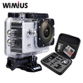"Wimius 4K /30fps 1080P/60fps Action Camera 2.0"" LCD Full HD Wifi Sport Mini Helmet Cam DV DVR Waterproof 40m +Travel Storage Bag"