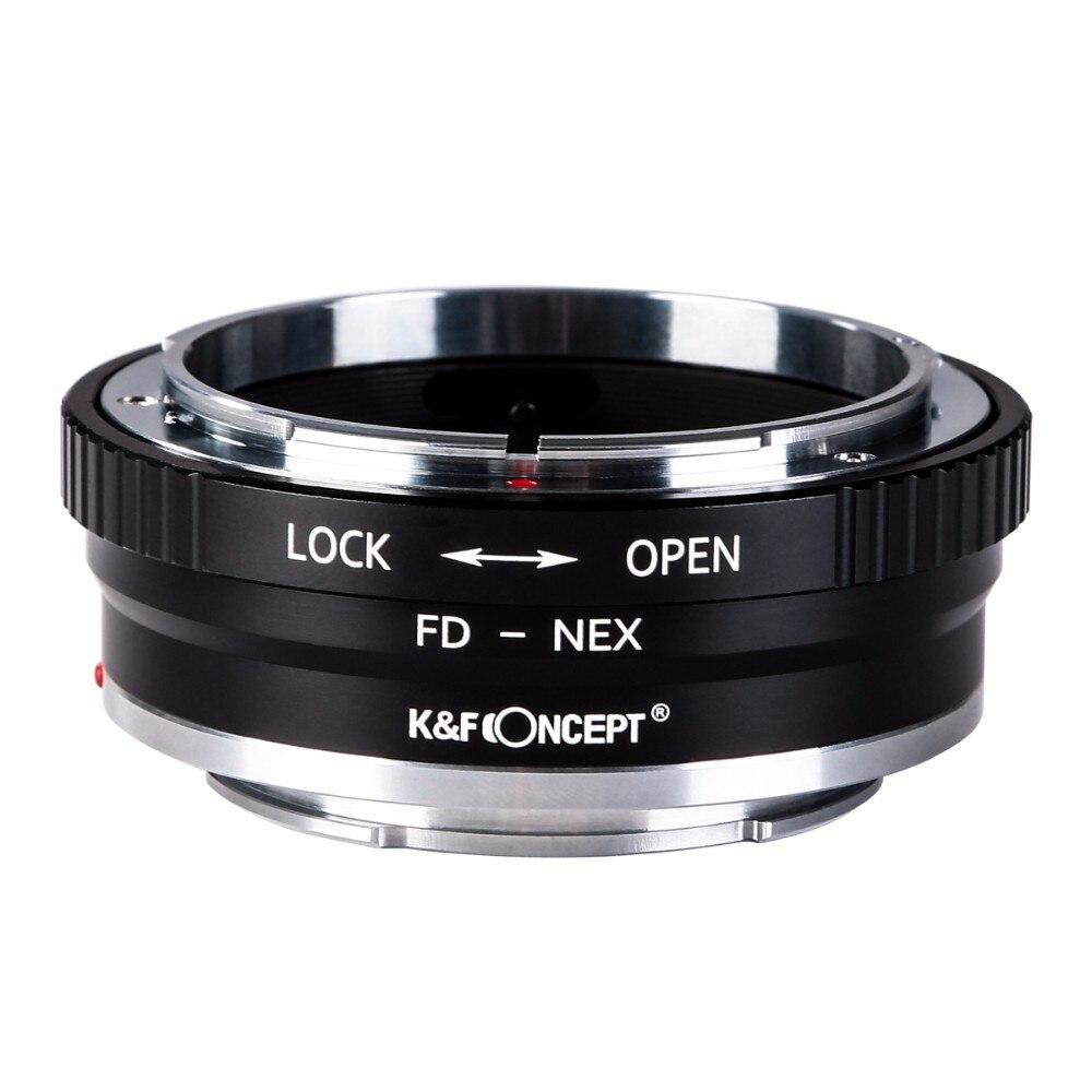 Haute Qualité FD-NEX II Camera Lens Adapter Ring Pour Canon FD Lens pour pour Sony NEX e-mount Caméra corps NEX NEX3 NEX5 NEX5N NEX7