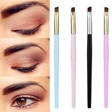 2019 Fashion Makeup Brush Eyebrow Flat Angled Brushes Foundation Eyeliner Blush Beauty Cosmetic Tool  5.23