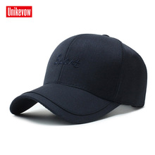 UNIKEVOW Solid sports baseball cap For Men  High quality golf Leisure Hats Hip Hop Cotton business