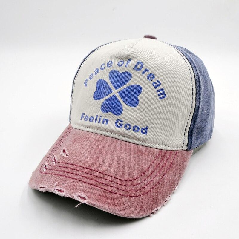 peace of dream feelin good Baseball Cap Clover Cap Snapback Hats Caps For Men Women Adjustable Adult Cap