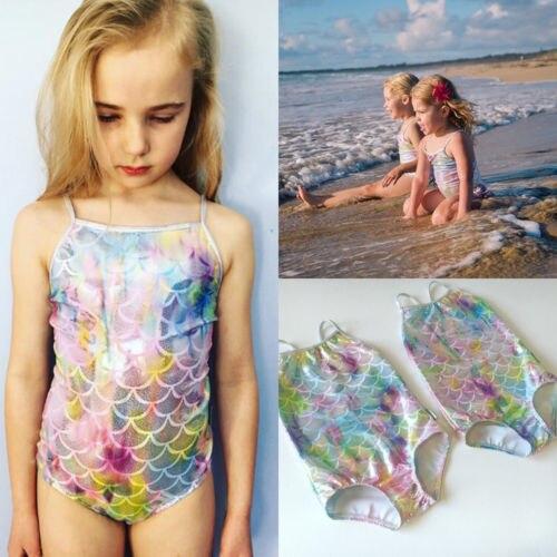 Lovely Summer House Design: Summer New Lovely Newborn Mermaid Swimwear Kids Baby Girls