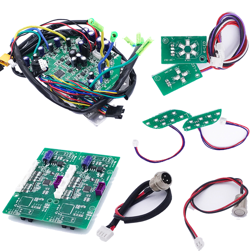 DIY Scooter Parts 6.5 8 10 Electric Scooter Mainboard Hoverboard Motherboard Circuit Control Board PCB For Electric Skateboard 40km h 4 wheel electric skateboard dual motor remote wireless bluetooth control scooter hoverboard longboard