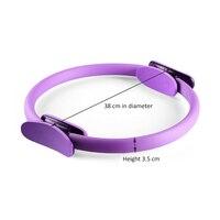 Зажим Кольцо силы кольцо для йоги пилатеса Волшебная Упаковка Потеря веса фитнес тренировка Тяжелая PP + NBR материал йога круг 5 видов цветов