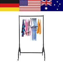 3FT Heavy Duty wieszak na odzież Rolling bez metalu stojący wieszak na ubrania stojak przenośny wiszący na ubrania, kurtkę, koszulę, długą sukienkę