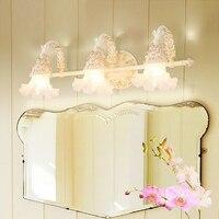 Зеркало лампы тщеславие светодиодные лампы для ванной водонепроницаемый настенный светильник уборная шкаф зеркало спальня передняя лампа...