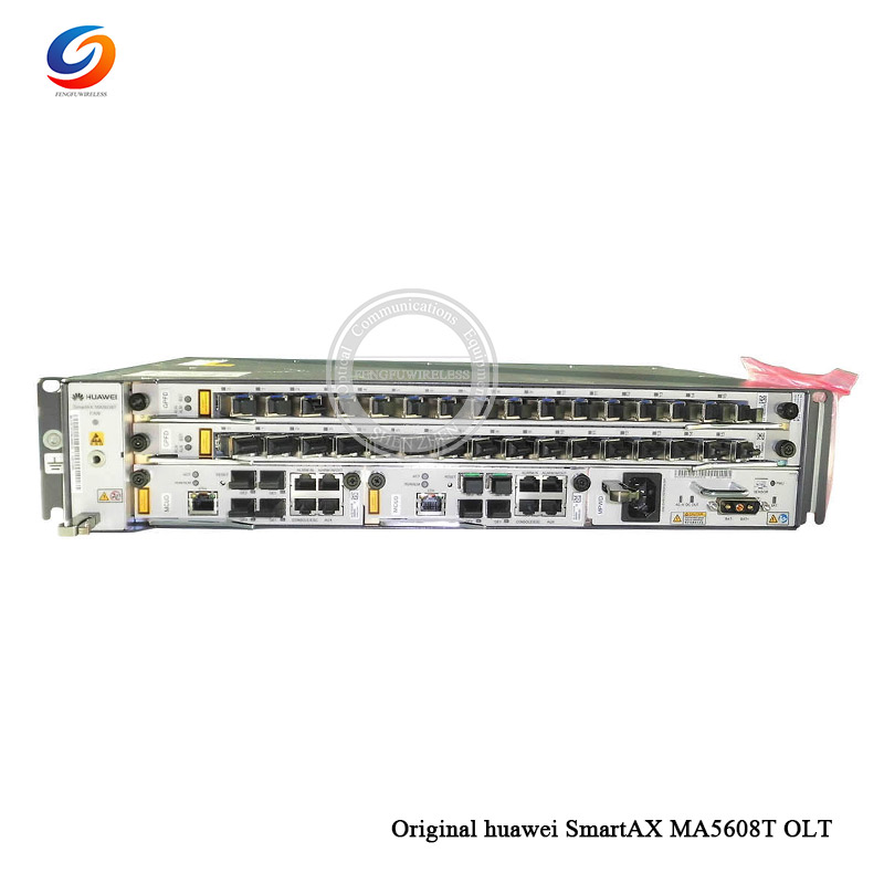 Fiber Optic Equipments Original New Hua Wei Ma5608t Olt Gpon Olt With 8 Port Ac Power With One Gpbd Traveling Communication Equipments