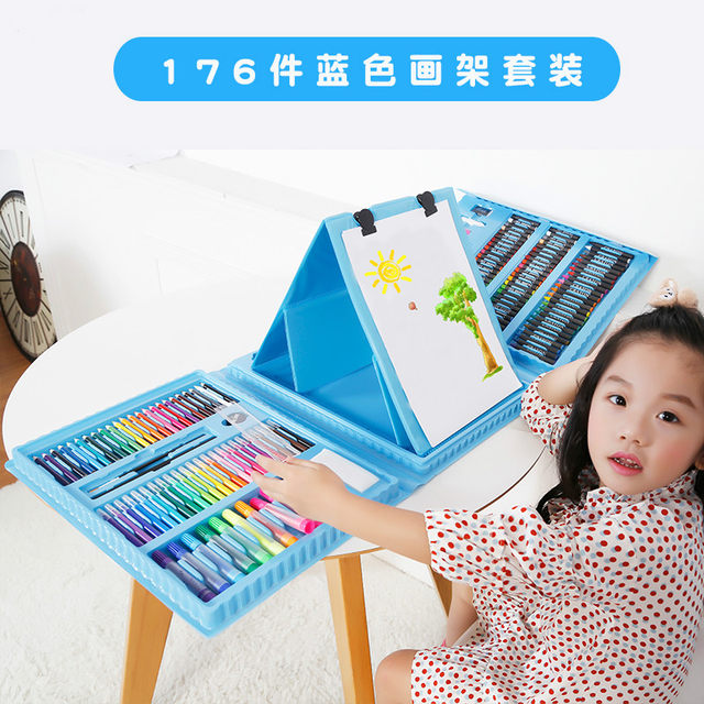 online shop 176pcs set children colors pencil drawing artist kit