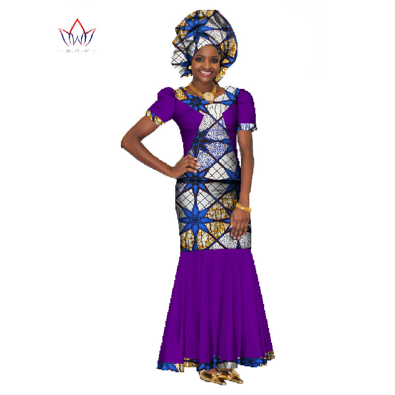 3545a9bcb20 African Women Dresses Traditional African Traditional 2 Pieces Women Set  Clothing Custom Made Tops + Skirts Hot Sale BRW WY147-in Women s Sets from  Women s ...