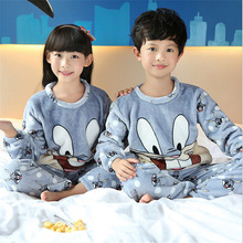 Kids Pyjamas Boys Girls Winter Sleepwear Children Pajamas Sets For Girls Soft Boys Pajamas Kids Nightwear Homewear