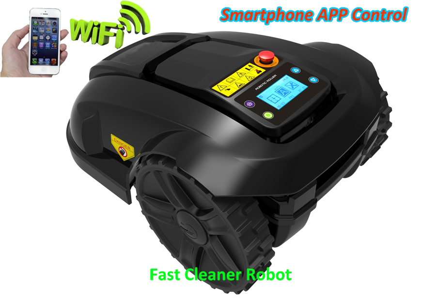GYROSCOPE Function Mini Smart Robot Grass Mower with Smartphone WIFI APP Function,Water-proofed charger,Subarea+Range Function  цены