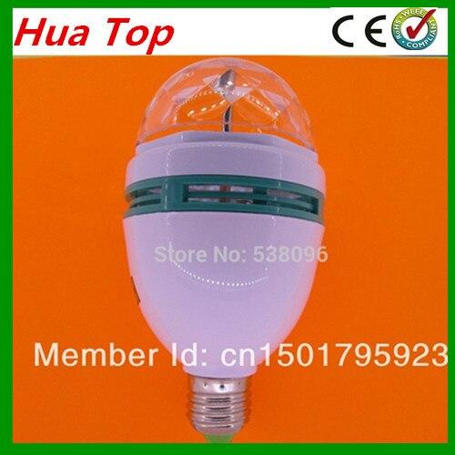 Innovadora de los artículos de alta calidad 9 W RGB bombilla LED AC85-265V E27multiple Color cambiante RGB lámpara LED para fiesta de envío gratis