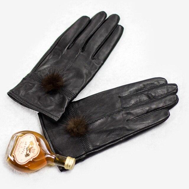 Genuine Sheepskin Leather...