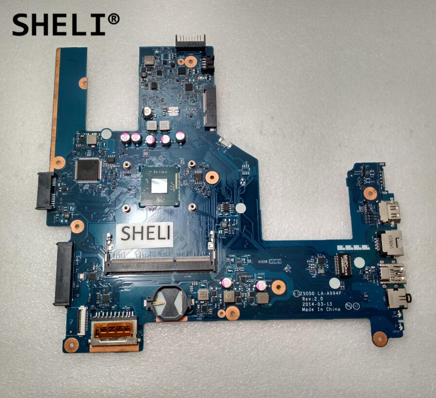 SHELI For HP 15 15-R Motherboard with N3530 2.16GHz cpu LA-A994P 764103-501 764103-001 764103 501 764103 001 main board for hp compaq 15 15 r 15t r 15 s laptop motherboard zso50 la a994p sr1w2 n3530 cpu ddr3