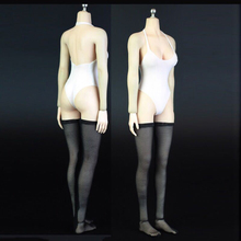 1:6 Scale Female Clothes NieR:Automata YoRHa 2B Clothing Sets for 12 inches Largest Bust Woman Action Figure Body 1 6 scale female white shirt custom made version women s waist shirt for large bust ph body female action figure