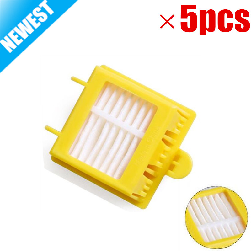 5pcs Hepa Filter Clean Replacement Tool Kit Fit for iRobot Roomba 700 Series 760 770 780 790 bristle brush flexible beater brush fit for irobot roomba 500 600 700 series 550 650 660 760 770 780 790 vacuum cleaner parts