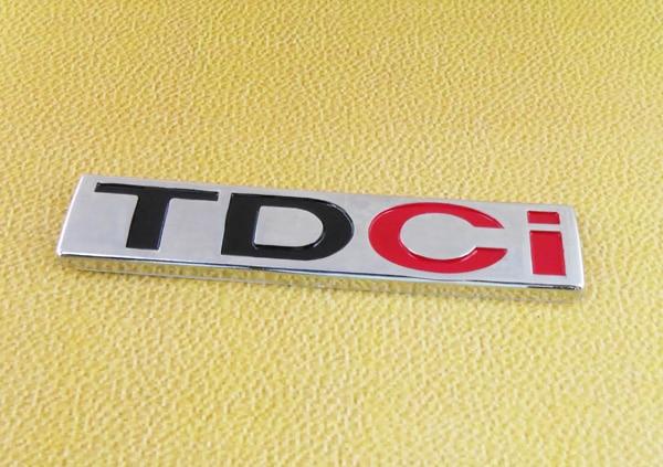 Auto car TDCI for Mondeo Kuga S-Max Mondeo CMax Diesel Emblem Badge Sticker auto car chrome turbodiesel turbo diesel emblem badge sticker